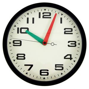 Brixton Clock Black Metal Casing