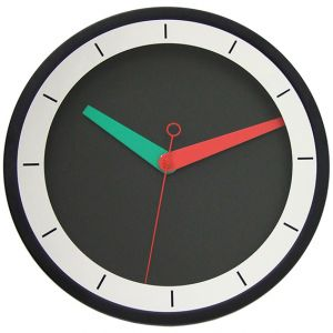 Modern Wall Clock Steel Mirror Design Silent Quartz