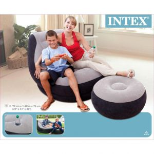 Inflatable Sofa Chair And Ottoman