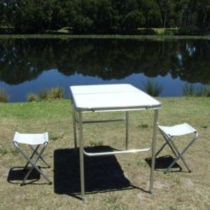 Portable Folding Camping  Table 2 Chair Set