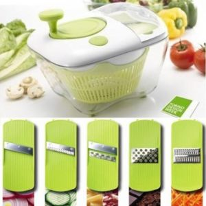 Salad chef multi- cutter 9 pieces set