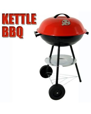 Kettle Trolley Charcoal BBQ Grill