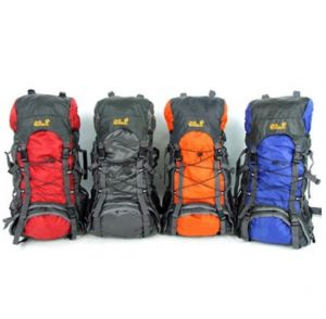 Medium Camping Hiking Mountain Travel Backpack 55L