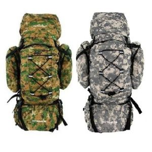 Camping Back Pack Army Color Style 90L