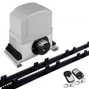 Motor Powered Auto Sliding Gate Opener w 6m Rail