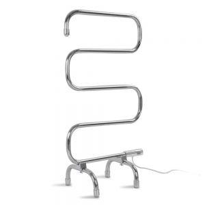 5 rung electric heated towel rail