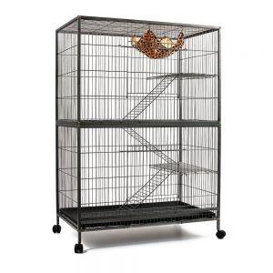 3 Level Cat Ferret Hamster Rat Bird Cage Aviary