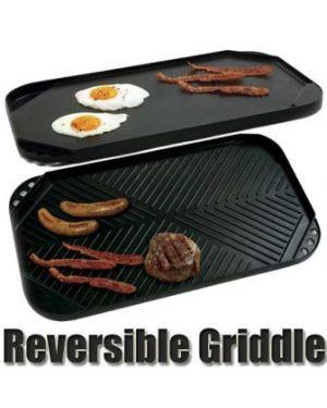 GrillPro Non-Stick Cast Aluminium BBQ Pan