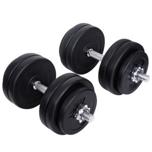 Everfit Home Gym Fitness 30kg Dumbbell Set