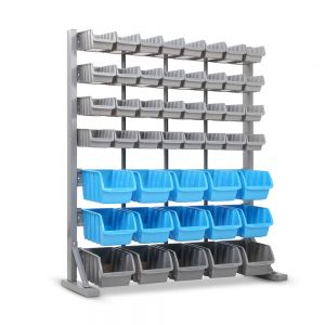 47 Storage Bin Wall Garage Rack