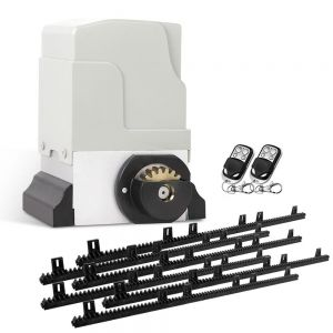 1800kg  LockMaster Automatic Sliding Gate Opener with 2 Remote Controllers