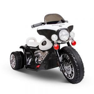 Kids Ride on Motorbike Black  White