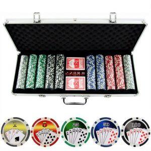 Professional Poker Game Set 500pcs