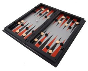 3in1 Magnetic Travel Game Set - Chess, Checkers & Backgammon