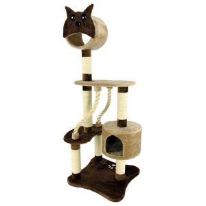 Cat kitten tree scratching tower pole