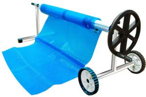 POOL REEL COVER BLANKET ROLLER 6.7M