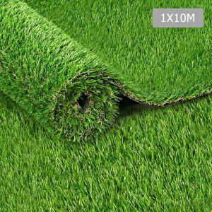 Artificial Grass 10 SQM Polyethylene Lawn Flooring 20mm Olive