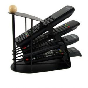 Remote Control Steel Organiser Universal Storage Organizer Holder Rack Stand