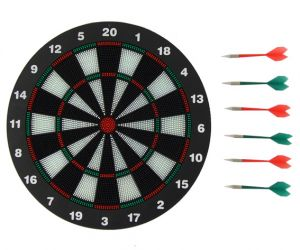 Safe Dart Board With Soft Rubber Tip