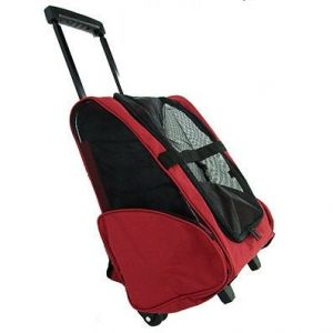 Portable Pet Trolley Carrier Travel BackPack