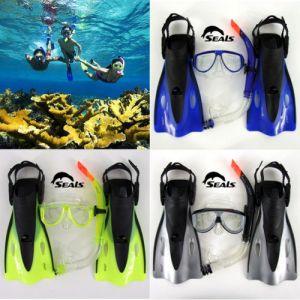 Kids Snorkeling Gear Snorkel Mask Goggle Flippers