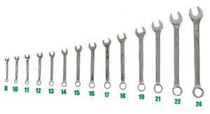 Wrench Spanner Tool Set