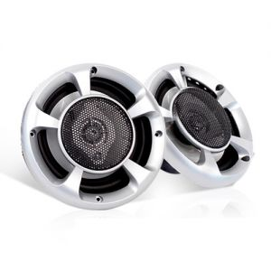 Set of 2 MaxTurbo Car Speakers w LED Light 500w