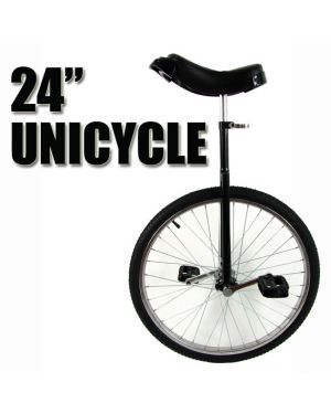 Black Unicycle 24 inch