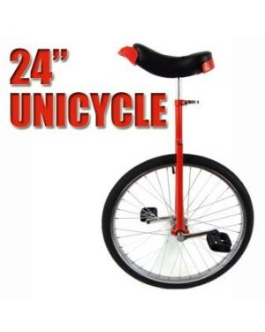 Uni cycle red 24 inch