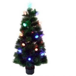 1.2M Xmax CHRISTMAS GREEN LIGHTING TREE
