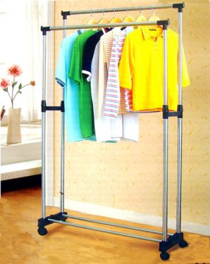 Stainless Steel Double Clothes Hanger / Dryer