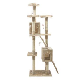 Cat tree 180cm beige