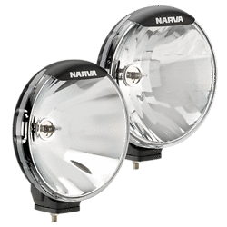 Narva 9 inch driving lights kit 12v 100w off road flood spotlights 71700 ultima 225