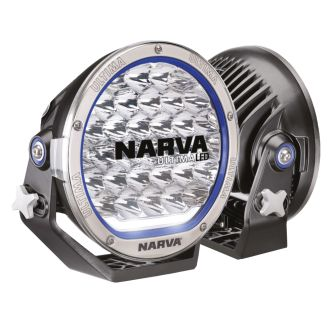 Narva pair 9inch led driving lights 165w off road spotlights 71740 ultima 215mm