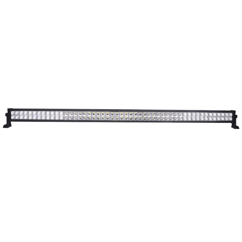 Lightfox 52inch cree led light bar spot flood combo offroad driving 4x4