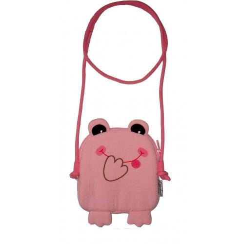 Tree frog handbag pink