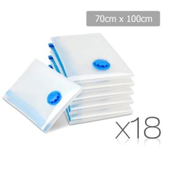 Set of 18 vacuum storage bags 70 x 100cm