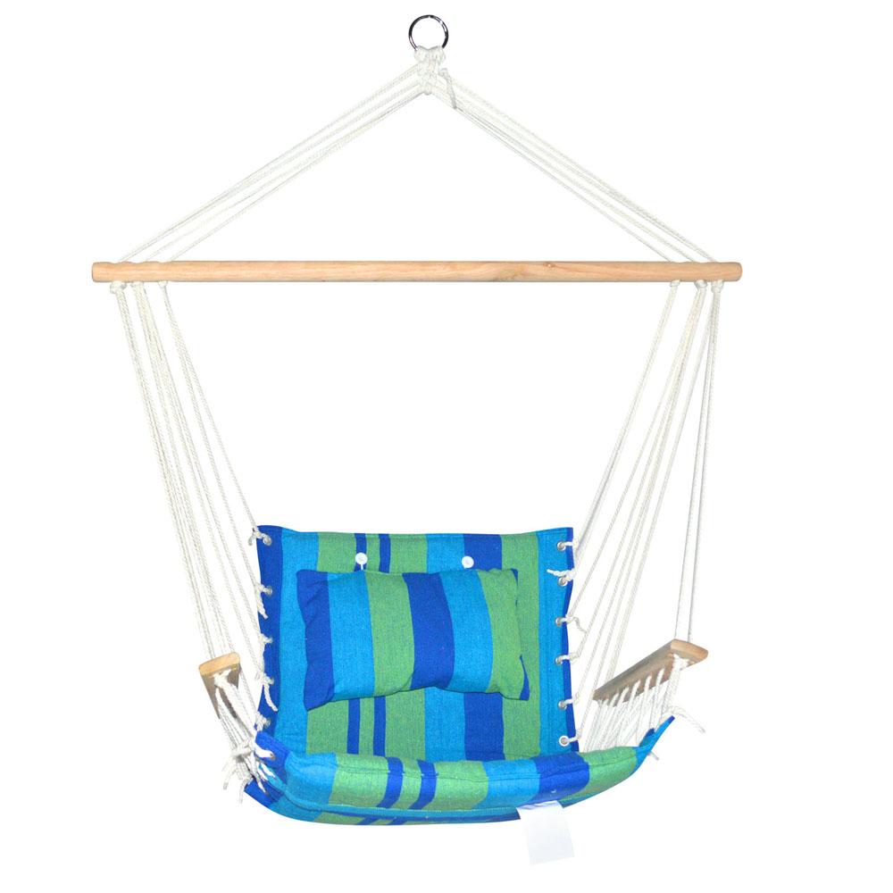 Hammock Swing Chair Blue Green