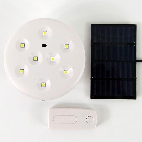Solar LED Globe Rechargeable