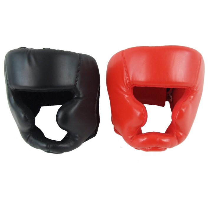 Martial Art Helmet Head Guard Vinyl Protector