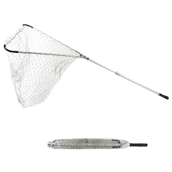 Fishing Landing Net Telescopic Aluminium Pole