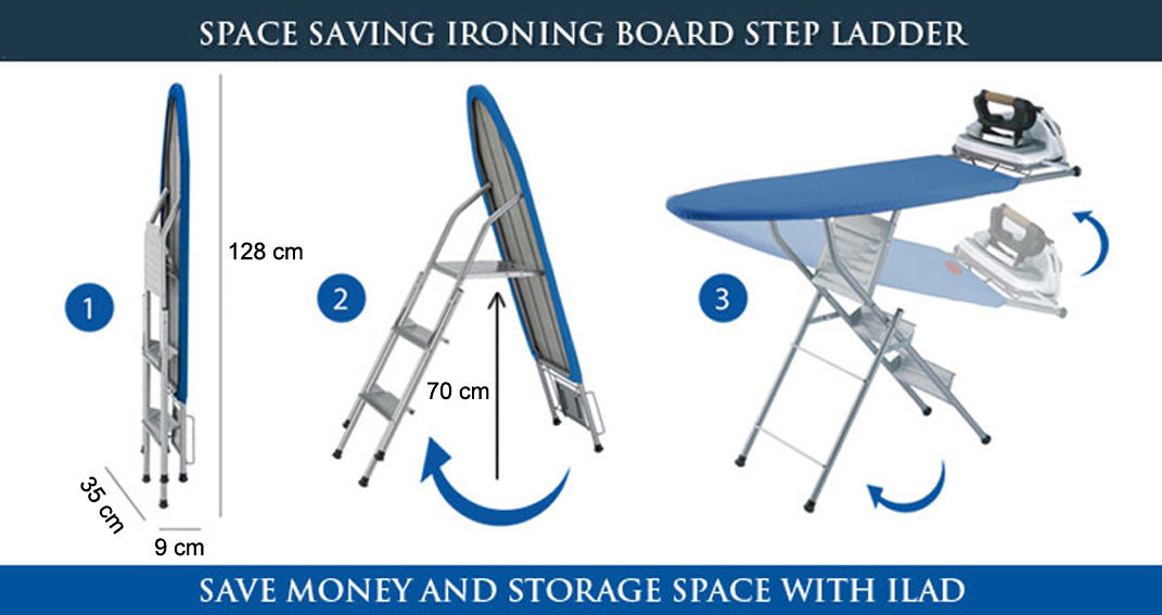 Ironing Board Ladder Transformable